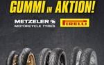 Pirelli und Metzeler Reifen - jetzt bei Lietz in Aktion!