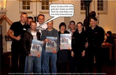 KTM & hmf - 10 Jahre und kein bisschen leise...