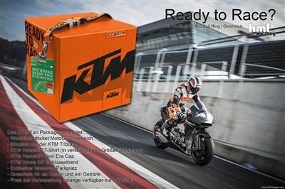 Bist Du Ready to Race? FAN PACKAGE für den Österreich Grand Prix 2016 für nur 177,55 €