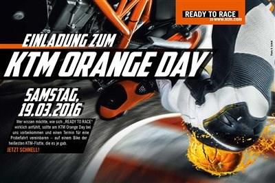 KTM Orange Day 19.03.2016