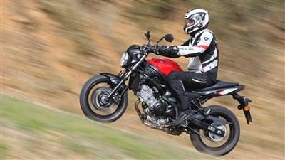 MOTORRAD Testsieger: SUZUKI SV 650