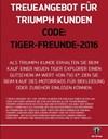 TRIUMPH EXPLORER Aktion: Treueangebot für Triumph  Explorer Kunden..... <<<