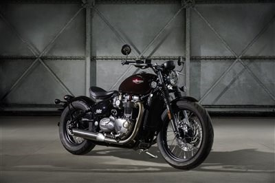 The New Triumph Bonneville Bobber