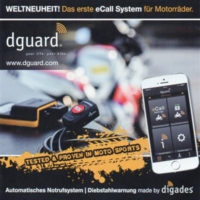 Das erste Motorrad eCall System der Welt: dguard®.