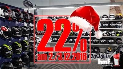 22% Aktion diesen Freitag / Samstag