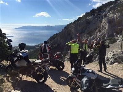 Sardinien Tour 2017 - Kurven, Berge und Meer