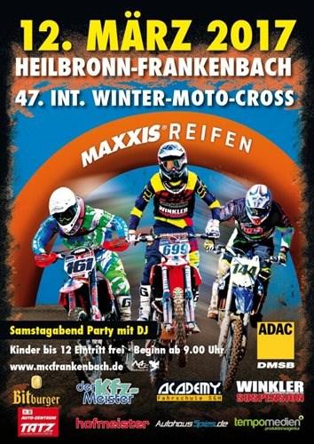 Kartenvorverkauf zum 47. Winter-Motocross 2017