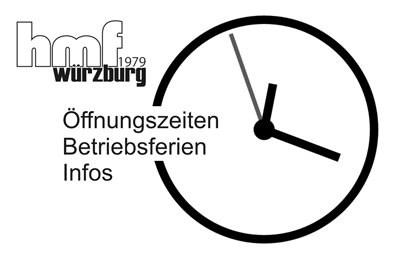 Fasching & Öffnungszeiten