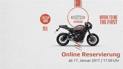 Start der Online Reservierung