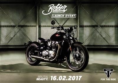 """Triumph """"Bobber Event"""" Vorstellung"""