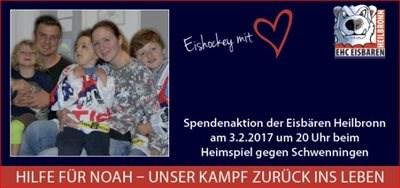 Spendenspiel der Eisbären Heilbronn