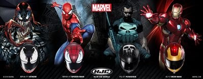 HJC Marvel + Star Wars Kollektion