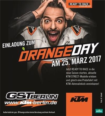 KTM GST Orangeday Sa. 25.03.2017