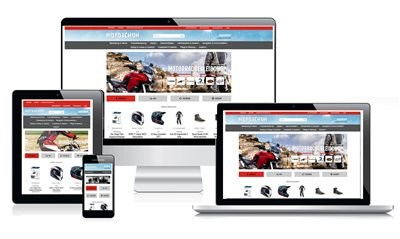 Onlineshop im neuen Design