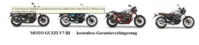 !!! Aktion Moto Guzzi V7 III kostenlose Garantieverlängerung!!!