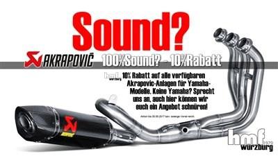 Akrapovic / Remsu Aktion - Bock auf Sound?
