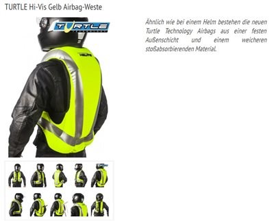 Helite Airbag Systeme bei uns!!