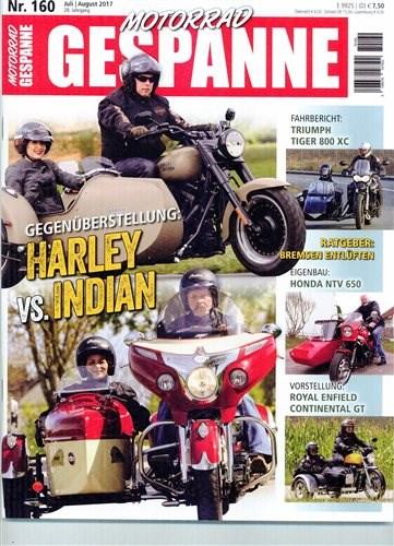 Presseartikel - Motorrad Gespanne Juli 2017
