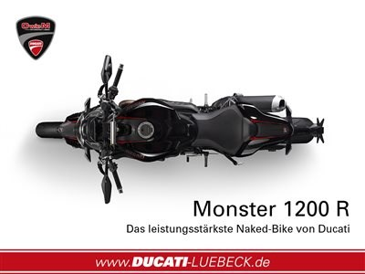 Aktion // Monster 1200 R black