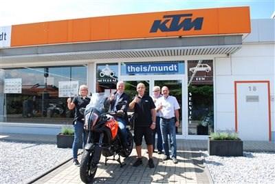Besuch des Bürgermeisters Klaus Krützen am 17. Juli 2017