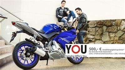 YZF-R125 ABS und MT-125 ABS mit 500 € Preisvorteil
