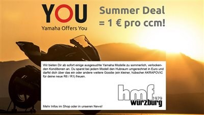 Yamaha YOU - bis zu 1929 € Preisvorteil*