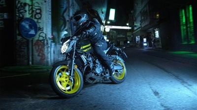 Eingetroffen: Yamaha MT03, Modell 2018