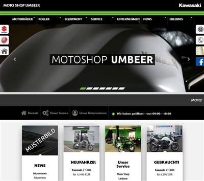 Kawasaki im neuen Design
