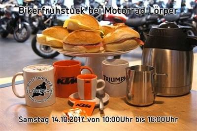 Bikerfrühstück