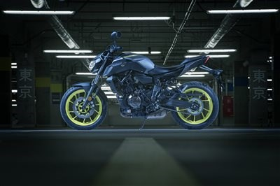 Neu: Yamaha MT07 - Dark Attraction