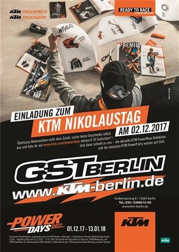 KTM GST Nikolaustag Sa.02.12.2017