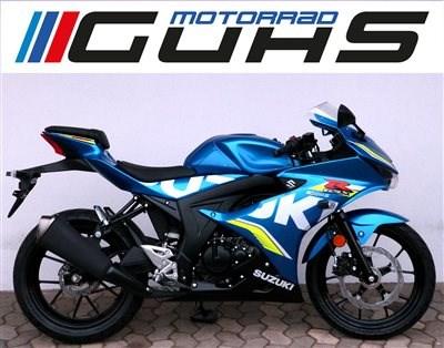 neue Suzuki 125 eingetroffen