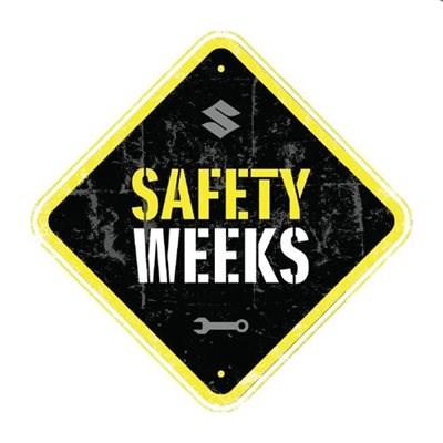 Kostenloser Hol.-und Bringservice und Suzuki Safety Weeks