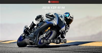 Yamaha YZF-R1M - jetzt reservieren!