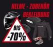 Helme - Zubehör - Bekleidung bis zu -70 reduziert !!!