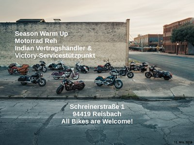 Motorrad Reh Season Warm Up! All Bikes are welcome! 07.04.2018