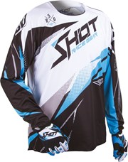 SHOT CONTACT MAGNETIC Jersey sw./blau/weiss XXL
