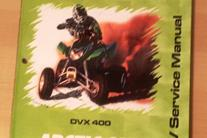 ATV Service Manual ARCTIC CAT DVX 2004