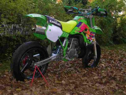 Kawasaki Kmx  Motor