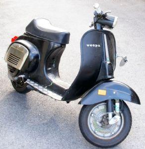 umgebautes motorrad vespa 50 special von gregori. Black Bedroom Furniture Sets. Home Design Ideas
