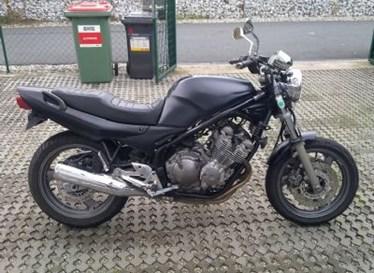 Umgebautes Motorrad Yamaha XJ 600 von Autohaus MK Müller