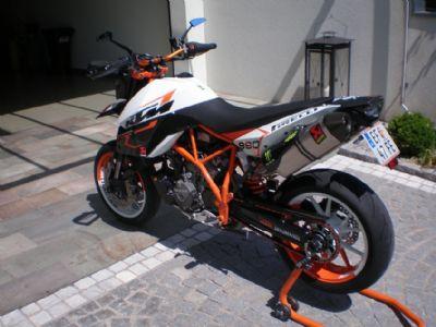 umgebautes motorrad ktm 990 supermoto r von steina90. Black Bedroom Furniture Sets. Home Design Ideas