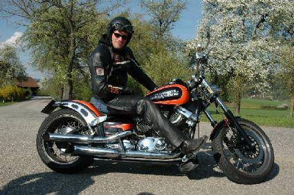 umgebautes motorrad yamaha xvs 650 drag star von knatterer. Black Bedroom Furniture Sets. Home Design Ideas
