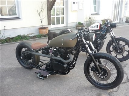 Umgebautes Motorrad Yamaha XJ 600 N von dorian - 1000PS.at