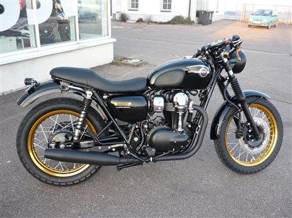 umgebautes motorrad kawasaki w 800 von bkm bikes handels gmbh. Black Bedroom Furniture Sets. Home Design Ideas