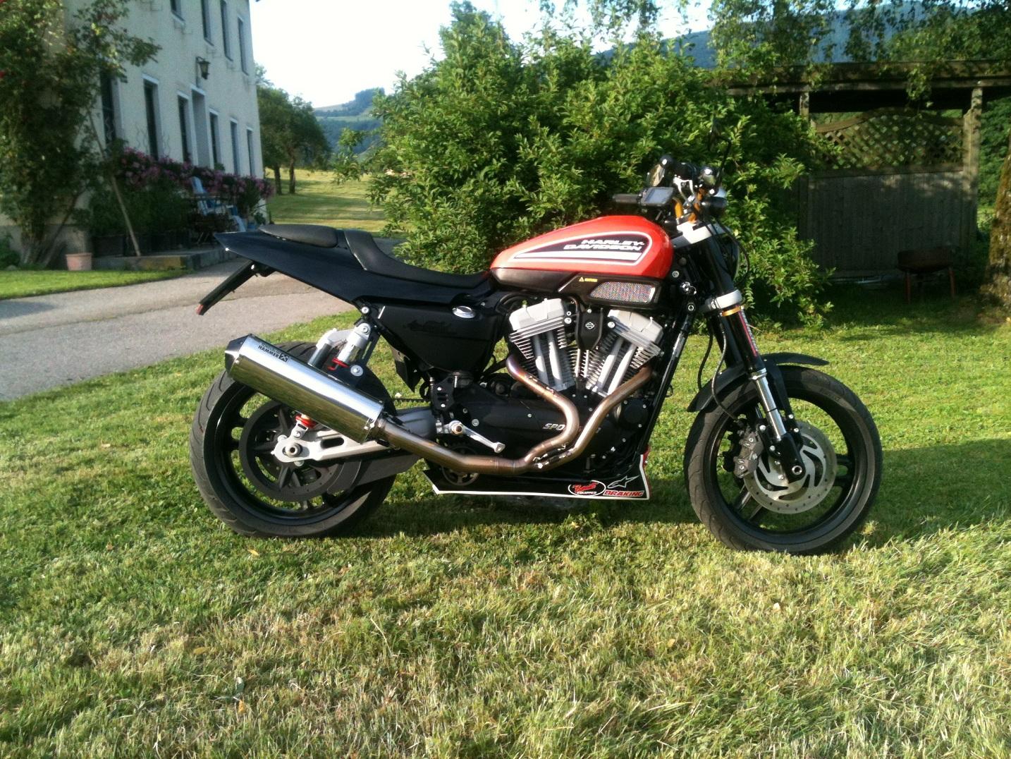 umgebautes motorrad harley davidson sportster xr 1200x von schwattmatt. Black Bedroom Furniture Sets. Home Design Ideas