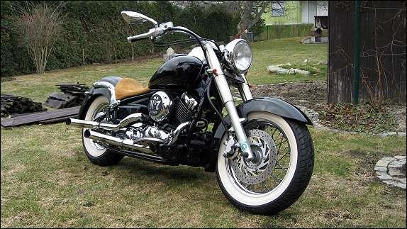 umgebautes motorrad yamaha xvs 650 drag star classic von. Black Bedroom Furniture Sets. Home Design Ideas