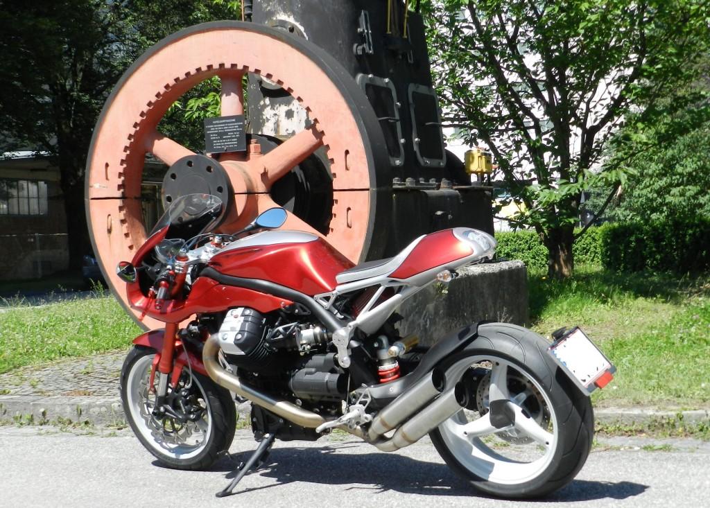 umgebautes motorrad moto guzzi griso 1200 8v special von. Black Bedroom Furniture Sets. Home Design Ideas