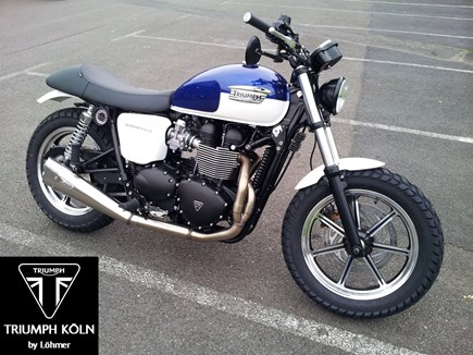 CUSTOMIZATIONS Triumph Bonneville