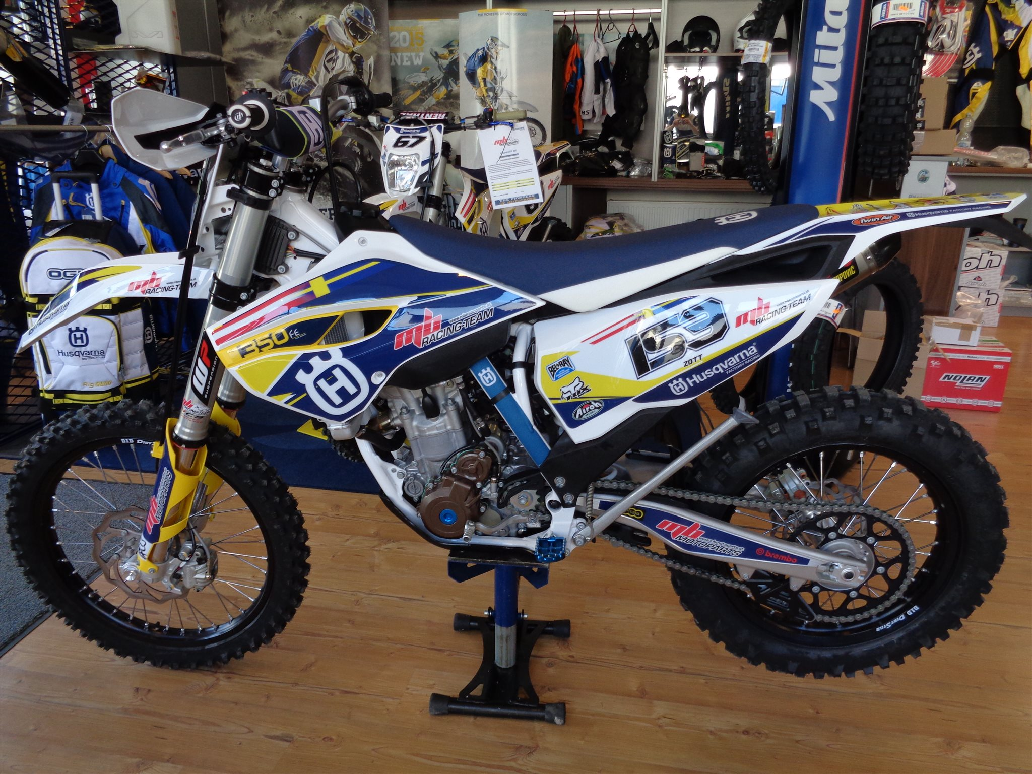 Husqvarna FE 350 mbRACING/TEAM Edt. Foto
